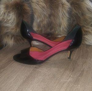 kate spade opened toed heels